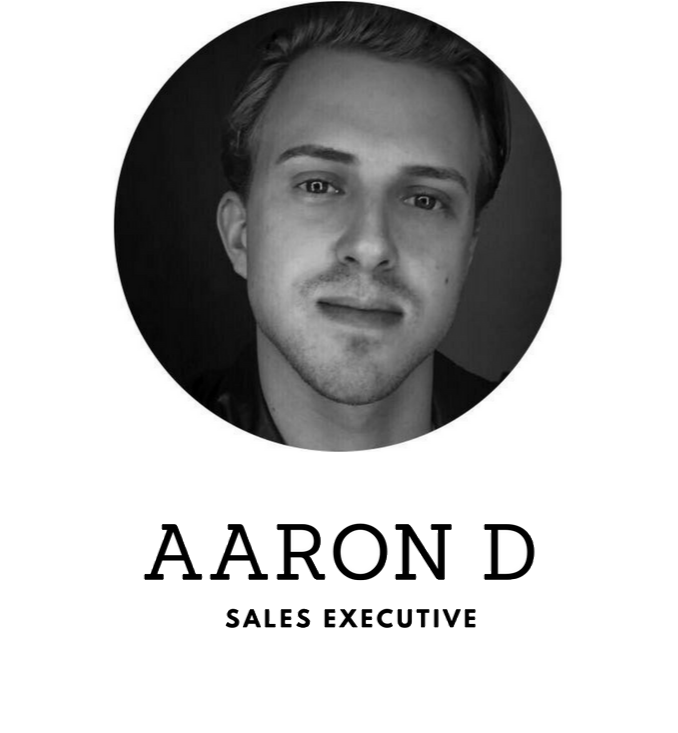 Sales Executive - Aaron D