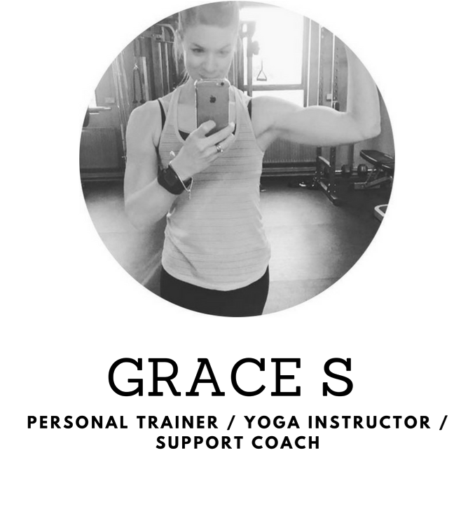 Personal Trainer, Yoga Instructor, Support Coach - Grace S