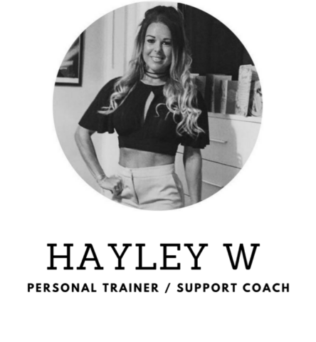 Personal Trainer, Support Coach - Hayley W